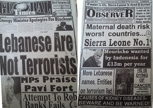 Read the latest review of Sierra Leone's newspapers